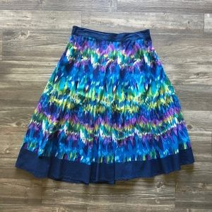 Women's SW Multi-Color Circle Skirt Size Large